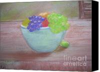 Still Life Pastels Canvas Prints - Always Serving Canvas Print by Tammy Knobloch
