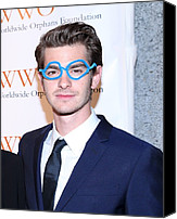 Cipriani Restaurant Wall Street Canvas Prints - Andrew Garfield At Arrivals For The Canvas Print by Everett