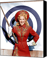White Gloves Canvas Prints - Annie Get Your Gun, Betty Hutton, 1950 Canvas Print by Everett
