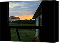 Farming Barns Canvas Prints - Another Time Canvas Print by Trish Clark