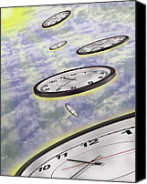 Time Travel Canvas Prints - As Time Goes By Canvas Print by Mike McGlothlen