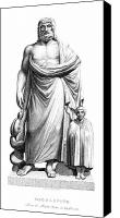 Toga Canvas Prints - Asklepios Canvas Print by Granger