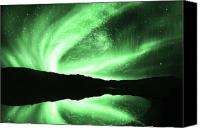 Aesthetic Canvas Prints - Aurora Canvas Print by Setsiri Silapasuwanchai