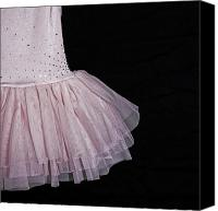 Tulle Canvas Prints - Ballet Dress Canvas Print by Joana Kruse