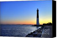 Barnegat Canvas Prints - Barnegat Lighthouse Canvas Print by John Greim