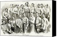 Sports Canvas Prints - Baseball Teams, 1866 Canvas Print by Granger