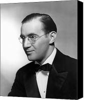 Bandleader Canvas Prints - Benny Goodman (1909-1986) Canvas Print by Granger