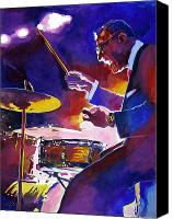 Bandleader Canvas Prints - Big Band Ray Canvas Print by David Lloyd Glover