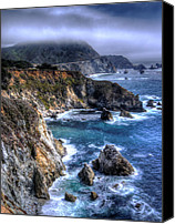 Northern California Photo Canvas Prints - Big Sur Canvas Print by Anthony Citro