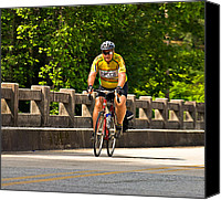 Susan Leggett Canvas Prints - Bike Ride Across Georgia Canvas Print by Susan Leggett