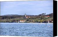 Lake Constance Canvas Prints - Birnau Canvas Print by Joana Kruse