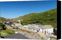 Kernow Canvas Prints - Boscastle Canvas Print by Carl Whitfield