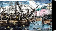 Tea Party Photo Canvas Prints - Boston Tea Party, 1773 Canvas Print by Granger