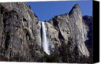  Yosemite Canvas Prints - Bridalveil Fall Yosemite Valley Canvas Print by Garry Gay