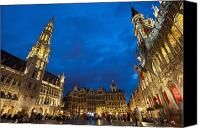 Brussels Canvas Prints - Brussels, Belgium Canvas Print by Axiom Photographic