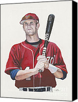Washington Nationals Canvas Prints - Bryce and the Fat Chik Canvas Print by Jason Yoder