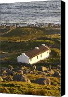 Ocean Front Landscape Canvas Prints - Bunbeg, County Donegal, Ireland Sunset Canvas Print by Peter McCabe