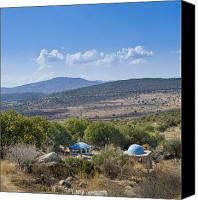 Rabbi Canvas Prints - Burial Cave in Galilee Canvas Print by Noam Armonn