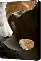 Antelope Canvas Prints - Canyon Sandstone Abstract Canvas Print by Mike Irwin