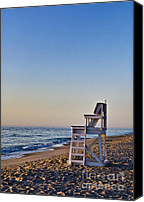 Nauset Beach Canvas Prints - Cape Cod Lifeguard Stand Canvas Print by John Greim