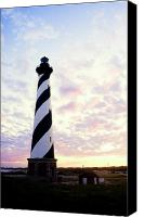 Second Beach Canvas Prints - Cape Hatteras Lighthouse Canvas Print by Thomas R Fletcher