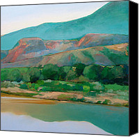 Chama River Canvas Prints - Chama River Canvas Print by Cap Pannell