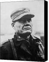 Soldier Painting Canvas Prints - Chesty Puller Canvas Print by War Is Hell Store