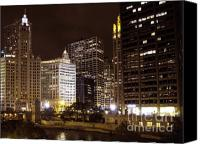 Patricia Schnepf Canvas Prints - Chicago Canvas Print by Patricia  Schnepf