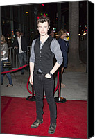 At Arrivals Canvas Prints - Chris Colfer At Arrivals For American Canvas Print by Everett