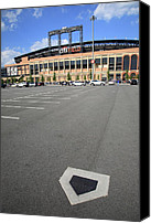 Shea Stadium Canvas Prints - Citi Field - New York Mets Canvas Print by Frank Romeo