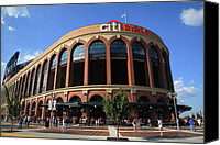 Queens Canvas Prints - Citi Field - New York Mets Canvas Print by Frank Romeo
