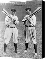 Detroit Tigers Canvas Prints - Cobb & Jackson, 1913 Canvas Print by Granger