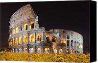 Empire Photo Canvas Prints - Colosseum Canvas Print by Andre Goncalves