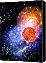 Astronomy Canvas Prints - Cosmic Evolution Canvas Print by Don Dixon
