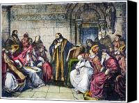 Ecumenical Canvas Prints - Council Of Constance, 1414 Canvas Print by Granger