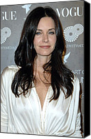 Black Tie Photo Canvas Prints - Courteney Cox Arquette At Arrivals Canvas Print by Everett