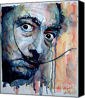 Icon Painting Canvas Prints - Dali Canvas Print by Paul Lovering