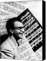 Dave Canvas Prints - Dave Brubeck (1920- ) Canvas Print by Granger