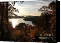 Foilage Canvas Prints - Dawn at Algonquin Park Canada Canvas Print by Oleksiy Maksymenko