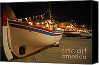 Azoren Canvas Prints - Decorated fishing boats Canvas Print by Gaspar Avila