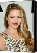 Dianna Agron Canvas Prints - Dianna Agron At Arrivals For Fox Tca Canvas Print by Everett