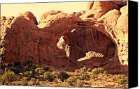Marty Koch Canvas Prints - Double Arch Canvas Print by Marty Koch