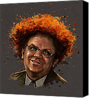 C Canvas Prints - Dr. Steve Brule  Canvas Print by Fay Helfer-Hale
