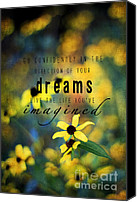 Susan Canvas Prints - Dreams Canvas Print by Darren Fisher