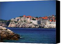 Dubrovnik Canvas Prints - Dubrovnik Croatia  Canvas Print by Don Wolf