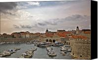 Dubrovnik Canvas Prints - Dubrovnik View 5 Canvas Print by Madeline Ellis
