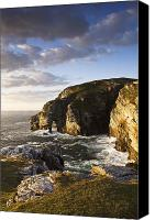 Ocean Front Landscape Canvas Prints - Dunfanaghy, County Donegal, Ireland Canvas Print by Peter McCabe