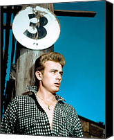 1955 Movies Canvas Prints - East Of Eden, James Dean, 1955 Canvas Print by Everett