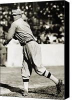 Sports Photo Canvas Prints - Eddie Plank (1875-1926) Canvas Print by Granger