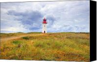 Light House Canvas Prints - elbow - Sylt Canvas Print by Joana Kruse